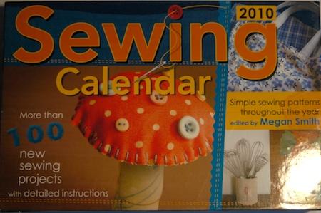 2010 Sewing Calendar