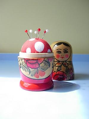 Matryoshka Doll Pincushion