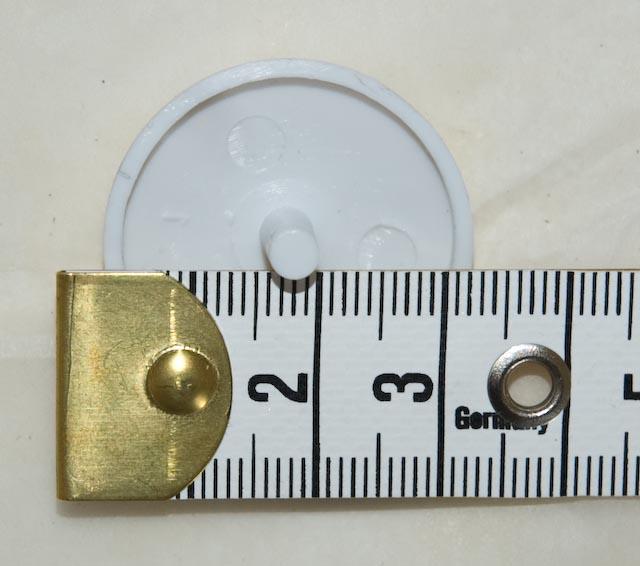 Measuring the button
