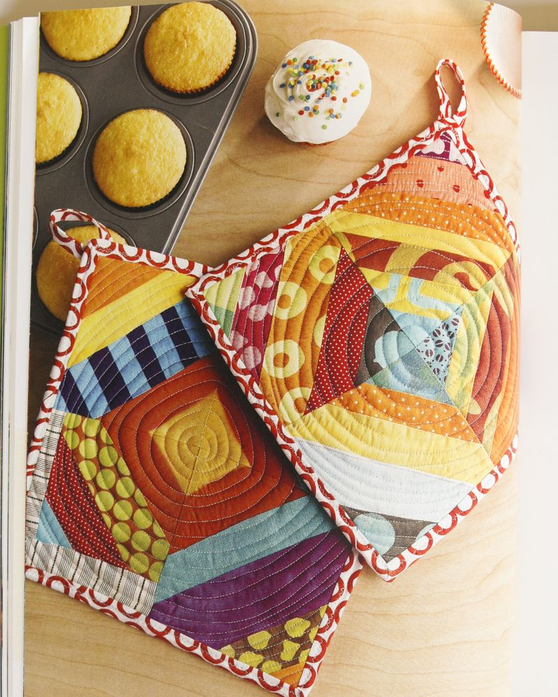 Pot Holders from Fresh Quilting