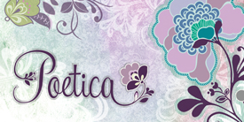 Logo for Poetica from ARt Gallery Fabrics