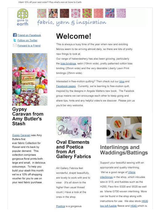 Gte newsletter